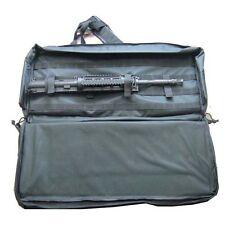 "28"" Black Discreet Single Gun Case Rifle Bag Molle and Back Pack Straps"