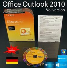 Microsoft Office Outlook 2010 Vollversion Box + CD EDU + Zweitinstallation OVP