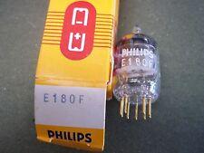 Radio VacuumTubes     E180F   6688   PHILIPS   SQ     2 pc NOS/NIB  GOLD PIN