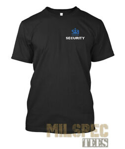Security SIA T Shirt Moisture Wicking Performance