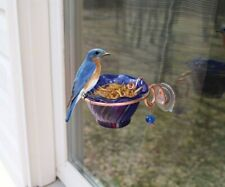 Gc - Songbird Essentials - Mealworm Window Feeder - Copper