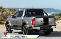 Nissan Navara Special Black Edition decal graphics Vinyl Custom ANY COLOUR 2