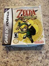 The Legend Of Zelda The Minish Cap Nintendo Game Boy Advanced Preowned *D4