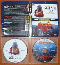 Saw VII + Piraña Piranha [Blu-Ray 2D & 3D Region B] Castellano, Catalán e Inglés