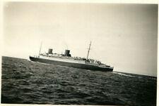 Foto, Dampfer Bremen vor Norderney, 1931 (N)20662