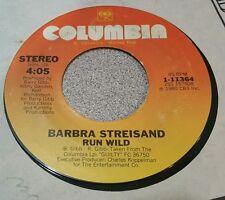 Barbra Streisand – Woman In Love / Run Wild (VG+)