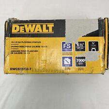 Dewalt 15 In Crown 155 Gauge Hardwood Flooring Staples Dwcs1512 7 6500 Pcs