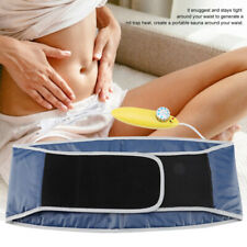 Electric Tummy Belt Body Waist Belly Slimming Sauna Fat Burner Weight Loss