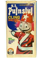 Vintage Remco H.R Pufnstuf Sid Marty Krofft Rescue Racer Cling Hand Puppet w/Box