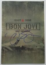 Jon Bon Jovi Signed Original 2007 2008 Concert Program Lost Highway Tour RARE