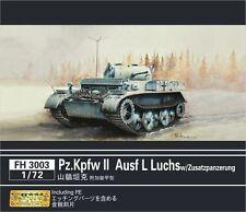 Flyhawk 1/72 German Pz.Kpfw.II Ausf.L Luchs with Additional Armour
