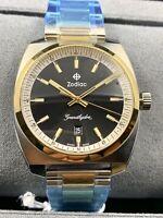 ZODIAC Grand Hydra Mens Swiss Made Two-Tone Mens Watch ZO9953 NEW!
