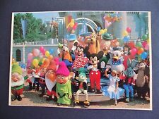 Walt Disney PHOTO PRINTS 10th Anniv WDW Magic Kingdom Mickey & Friends FREE Ship