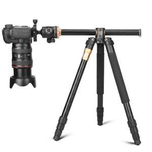 Q999H Portable Aluminium Camera Tripod Monopod With Ball Head For DSLR Camera