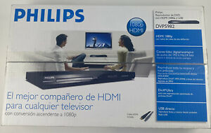 Phillips 1080p HDMI DVP5982/37 C1 DVD Player w/USB Brand New Sealed