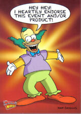 The Simpsons Animation Collectable Trading Cards