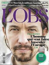 L'OBS N°2641 18 JUIN 2015  PODEMOS-IGLESIAS/ MACRON/ MILLEPIED/ ROTHSCHILD/ CODE
