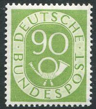 Alemania - 1951-52 90pf Amarillo-Verde SG 1060 V20024 ligeramente montados como nuevo