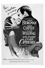 Under Capricorn (1949) Ingrid Bergman Alfred Hitchcock movie poster print
