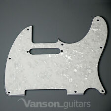 NEW Vanson 3ply Scratchplate for Telecaster® Tele®* projects Pickguard TC2