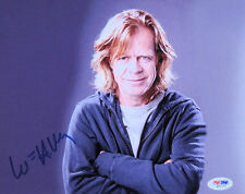 William H Macy Signed Shameless Frank Gallagher 8x10 Photo PSA/DNA