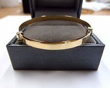 New 9ct Gold Child's/Baby Expanding Bangle 1.9 grams * Fully Hallmarked *