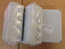 3 x Caja Registro de Empalmes Estanca Superficie 220 x 170 mm Solera 686