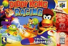 Diddy Kong Racing (Nintendo 64, 1997) n64 GAME ONLY NICE SHAPE WORKS WELL NES HQ