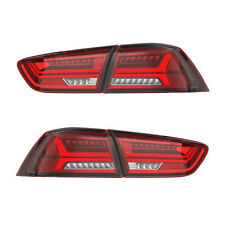 Tail Light For MITSUBISHI LANCER/EVO X 2008-2015 Projector Red Clear Rear Lens
