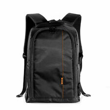 "Waterproof Padded Case Camera Backpack Bag for 15.6""Laptop Canon Nikon Sony DSLR"