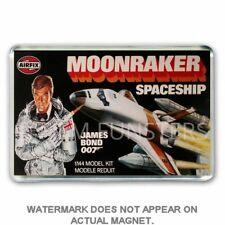 RETRO AIRFIX JAMES BOND MOONRAKER SPACE SHUTTLE JUMBO FRIDGE / LOCKER MAGNET