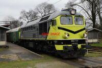 PHOTO  POLISH RAILWAYS -  PKP CLASS ST44/RUSSIAN CLASS M62 1 NO M62-1151 VIEW 3