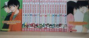 Kimi Ni Todoke 20 Vol. Eng Manga Graphic Novels Brand New Lot