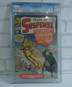 TALES OF SUSPENSE # 47 CGC 6.5 1st MELTER APPEARANCE- IRON MAN- CENTS- KEY- 1963