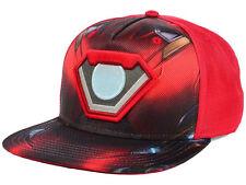 Marvel Ballistic Iron Man Armor Flat Snap-back Cap