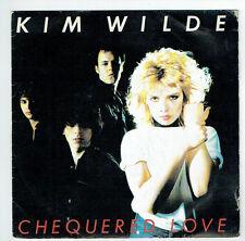 "Kim WILDE Vinyl 45T 7"" SP 1981 CHEQUERED LOVE - SHANE - RAK 64410 Frais Reduit"