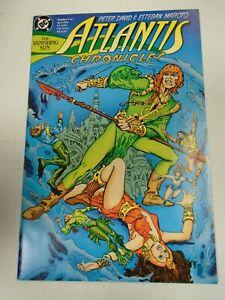 DC ATLANTIS CHRONICLES #2 (1990) Shalako, Orin, Peter David, Esteban Maroto