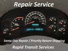 GMC Sierra 2003 - 2006 (Including Duramax) Instrument Gauge Cluster Repair