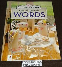 THE MOUSE FAMILY LOTS OF FUN WITH WORDS BOOK (2016) -BRAND NEW-