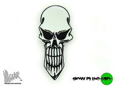 ill Gear CBD LONG SKULL GITD GID Patch Tactical Survival Zombie HOOK & LOOP