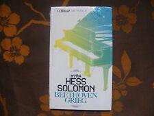 2 CD + LIVRET MYRA HESS SOLOMON - Beethoven Grieg / Edition Le Monde N°40   NEUF