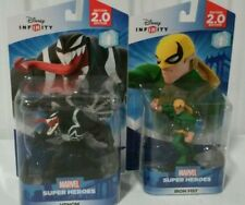 DISNEY INFINITY 2.0 MARVEL FIGURES VENOM AND IRON FIST FREE SHIPPING IN A BOX