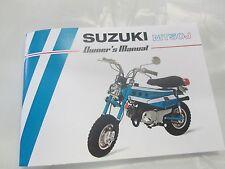 Suzuki MT50,MT50J 1972  owner's manual