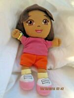 "Dora the Explorer Plush Doll 8"" 2011 Nickelodeon TV Character Toy Collectible"