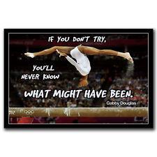 T-465 Art Poster Motivation Simone Biles Gymnast Balance Olympic Champion Hot