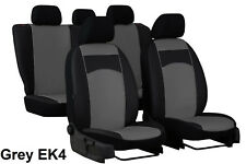 SKODA OCTAVIA Mk3 2013 ONWARDS ECO LEATHER TAILORED SEAT COVERS MADE TO MEASURE