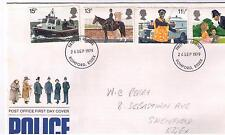 STAMPS. ROYAL MAIL FDC – POLICE – 26th Sept 1979