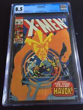 X-Men #58 CGC 8.5 VF+ Very Fine Plus (Marvel 1969) 1st Havok in costume