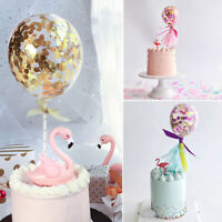 Colorful Latex Confetti Balloon Cake Insert Cake Topper Birthday Party Decor