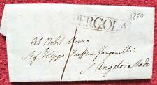 5711-STATO PONTIFICIO, PREF.,PERGOLA- S.ANGELO IN VADO,A RUFFINI GANGANELLI,1850